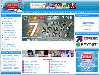 MUZ.UZ — Первый оригинальный музыкальный сайт