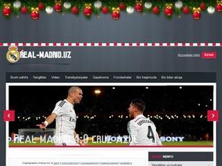 Сайт любителей ФК «Real Madrid»