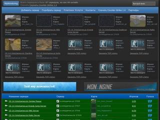 Мониторинг Counter Strike 1.6